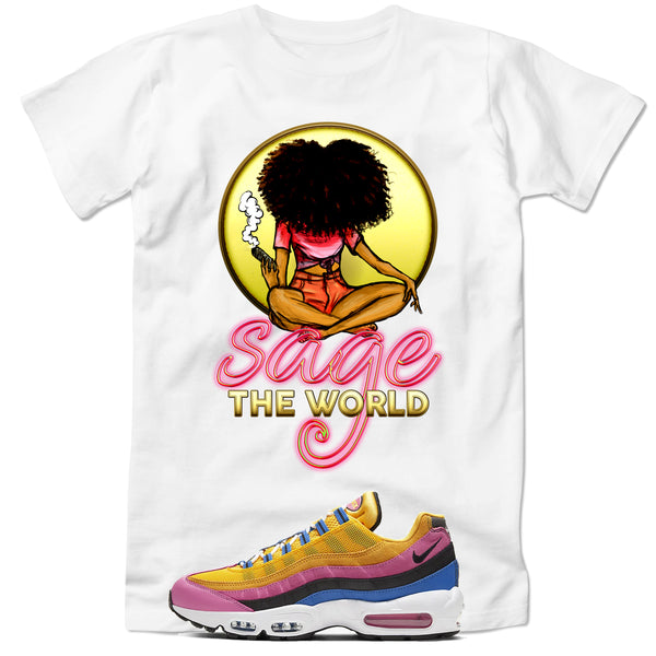 Sage the World TShirt - yellow