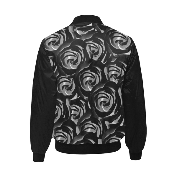 Silver Roses Jacket
