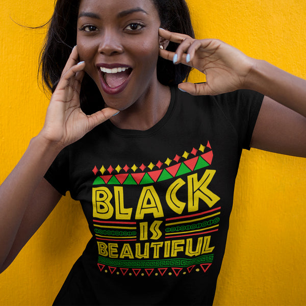 Black is Beautiful TShirt - black