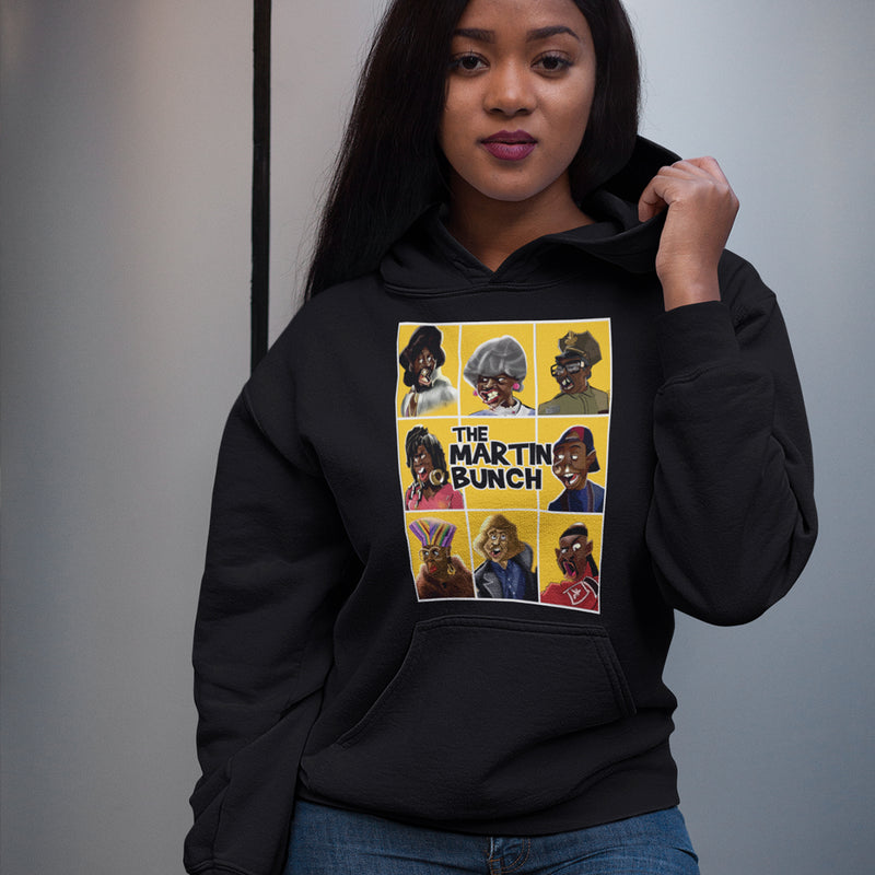 The Martin Bunch Hoodie - black