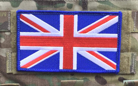Blue Trim XL Union Jack patch