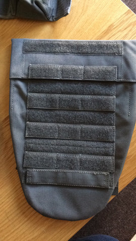 C2R wolf grey groin protection pouch with filler