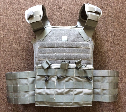 C2R C2RMOR Lite Wolf Grey (Gray) Armour Plate Carrier