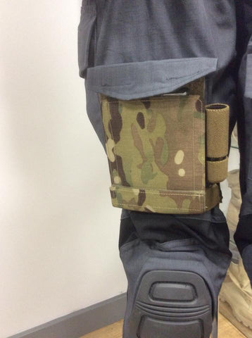 C2R Tacpad- Thigh - Leg mounted illuminated tactical pad