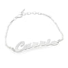 Trendy Personalized Script Name Bracelet