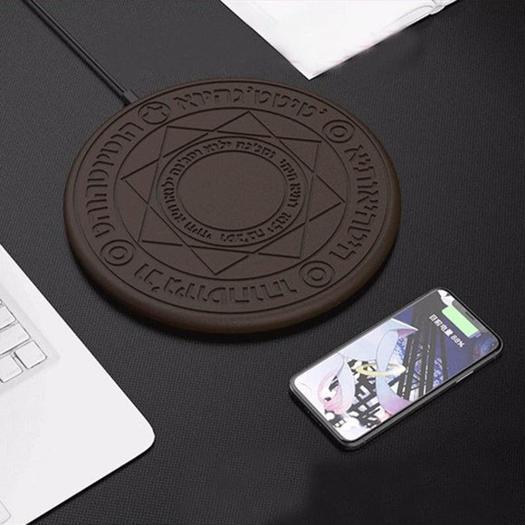 Crypto Wireless Fast Charging Pad