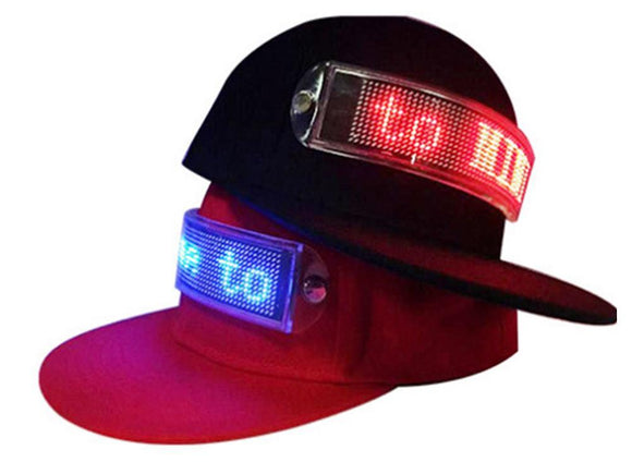 High Quality LED Cool Hat with Screen Light 🎆🎊 🎧