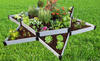 Classic White Raised Garden Bed Garden Star