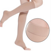 Image of Anti-Fatigue Knee High Compression Stockings Open Toe