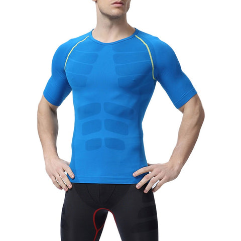 Mens Athletic Short Sleeve Shirt