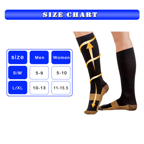 Anti-Fatigue Compression Knee Socks FREE Offer
