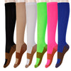 Image of 3 Pair - Anti-Fatigue Compression Knee Socks