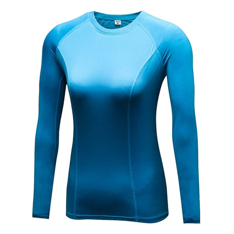 Women's Compression Base Layer Long Sleeve Shirt