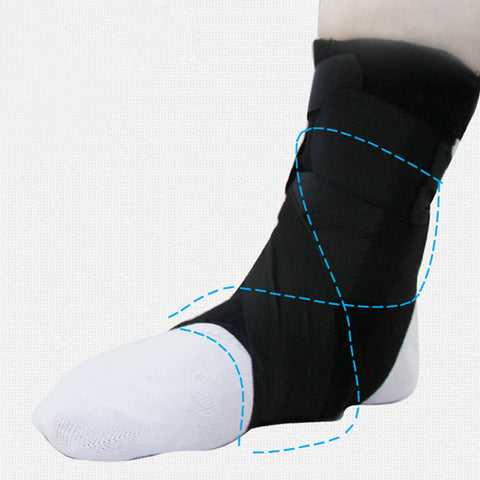 Compression Foot Support Brace - Adjustable
