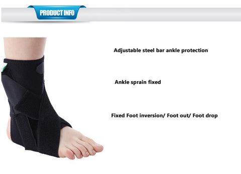 Ankle Compression Foot Strap with Foot Drop Support Strap