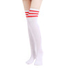 Image of Thigh High Striped Stockings