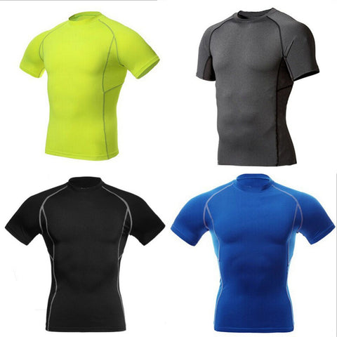 Tight Short Sleeve Sports T-Shirts