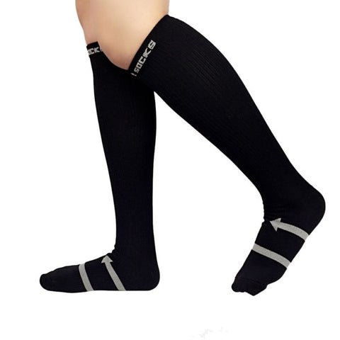 3 Colors Mens Socks Compression Socks Knee Anti-fatigue Male Leg Slimming Stockings Men's Socks