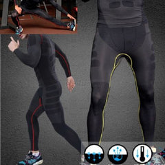 Image of Mens Athletic Pants Compression