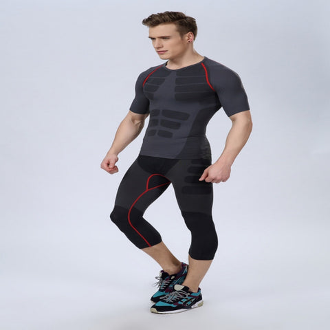 Mens Athletic Pants Compression