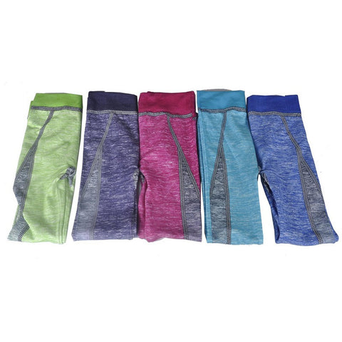 Womens Yoga Pants Elastic Gym Fitness