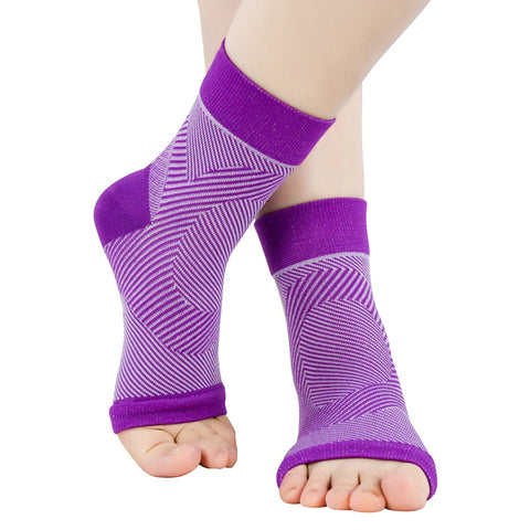 3 Pair - Anti Fatigue Compression Ankle Swelling Relief Sock