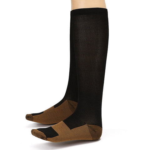 3 Pair - Anti-Fatigue Compression Knee Socks