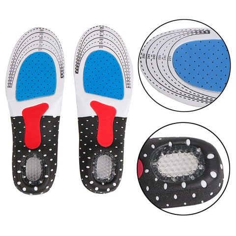 3 Pair - Arch Support Orthotics Sports Shoe Pad Insoles