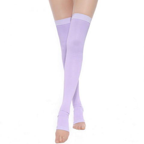 Compression Leg Stockings - Thigh-High