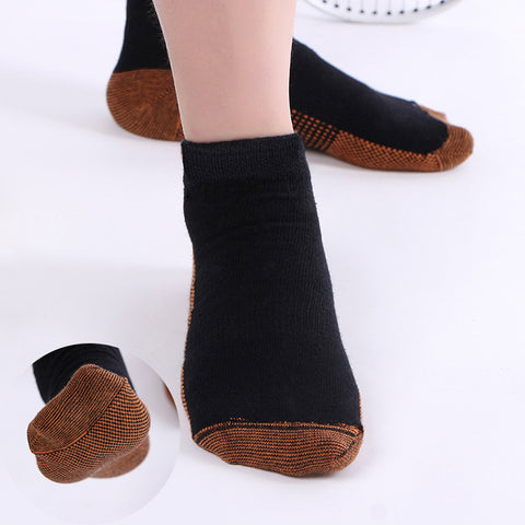 3 Pair - Copper Fiber Anti Fatigue Compression Socks
