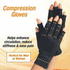 Image of Copper Arthritis Compression Gloves