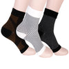 Image of 3 Pair - Anti Fatigue Compression Ankle Swelling Relief Sock