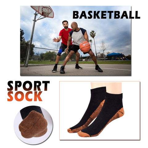 Copper Fiber Anti Fatigue Compression Socks FREE Offer