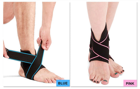 Foot Compression Ankle Brace - Adjustable