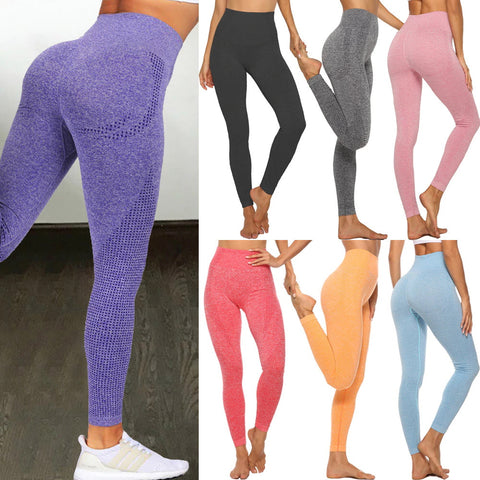 Women's High Waist Seamless Leggings