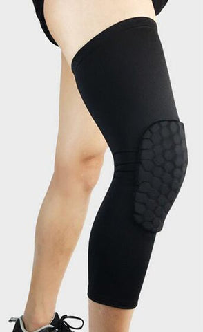 Honeycomb Compression Knee Pads - Full Leg Sleeve