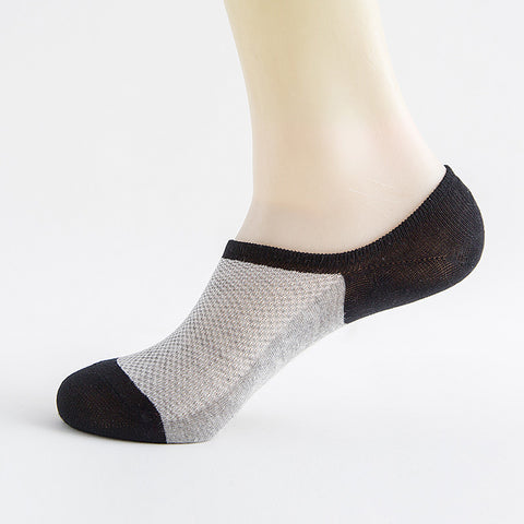 Men's Invisible Ankle Cotton Compression Socks