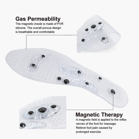 3 Pair - Massage Magnetic Insoles