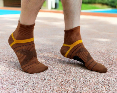 Merino Wool Ankle Compression Socks