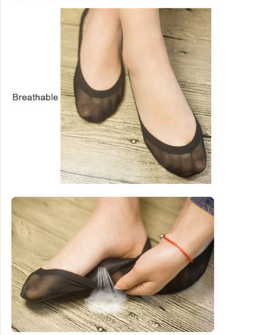 Non Slip Silica Gel Invisible Slippers