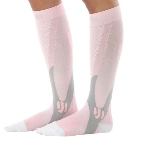 3 Pair - Knee High Sport Compression Socks