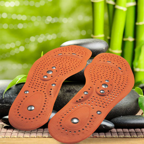 3 Pair - Magnetic Therapy Foot Massage Insoles