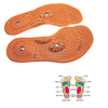 Image of 3 Pair - Magnetic Therapy Foot Massage Insoles