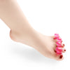 Image of Silicone Gel Foot Care 5 Hole Toe Separator