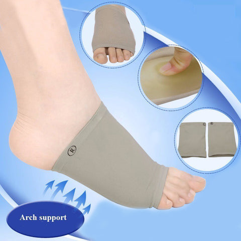 Plantar Fasciitis Arch Support Orthotics Insole - Silicon Gel Pad