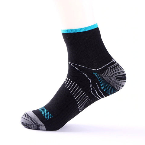 Sweat Absorbent Plantar Fasciitis Compression Socks