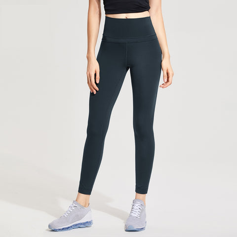 Womens High Waist Lightweight Leggings With Pocket