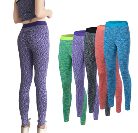Womens Stretchy Elastic Slim Yoga Pants