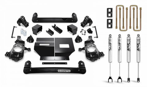 Cognito 4 Inch Standard Lift Package For 2020 Silverado/sierra 2500/3500 Leveling Kit