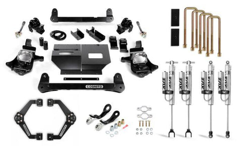 Cognito 4-Inch Performance Lift Kit With Fox Psrr 2.0 For 11-19 Silverado/sierra 2500/3500 2Wd/4Wd